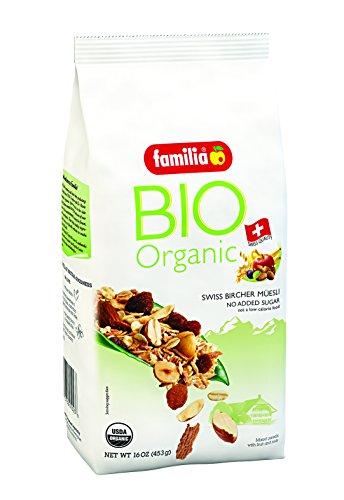 Familia BIO Organic Swiss Muesli, Fruit and Nut, 16-Ounce Bag by Familia