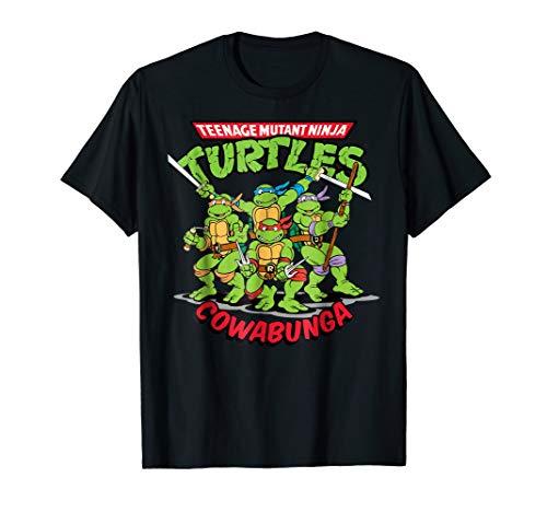 Rise of The Teenage Mutant Ninja Turtle Cowabunga T-shirt ()