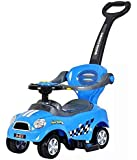 Cool Baby 3 IN 1 Activity Ride-On for Unisex -  Blue
