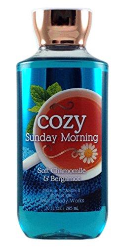 Bath and Body Works Shea Vitamin E Shower Gel Cozy Sunday Morning Soft Chamomile Bergamot