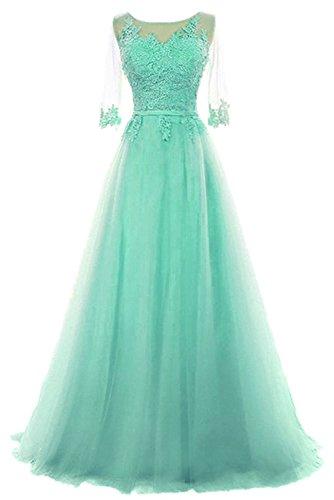 Victory Bridal -  Vestito  - linea ad a - Donna verde 44