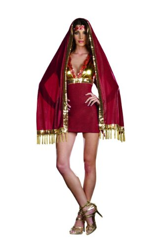 [Bolly Ho Adult Costume - Medium] (Bollywood Dress Up Costumes)