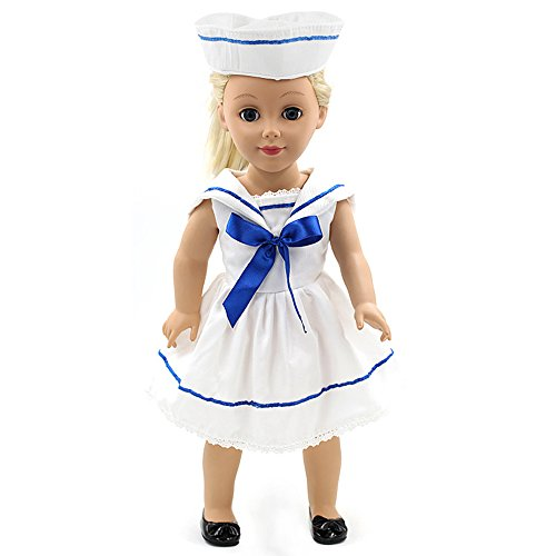 Youtop Fashion Party Daily Casual Sailor Dress Suit with Hat for 18