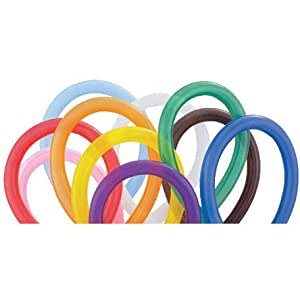 Qualatex 260Q Balloons - Assorted Color Twisty Balloons - 250 Count