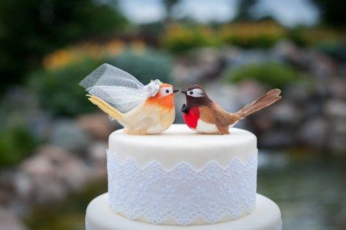 Cheeky Chickadee Cake Topper: