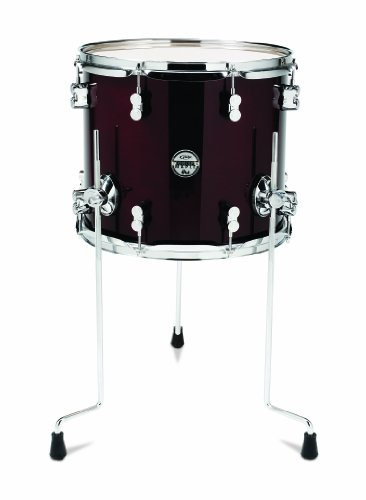 Pacific Drums PDCM1214TTTC 12 x 14 Inches Floor Tom with Chrome Hardware (12 X 14 Floor Tom)