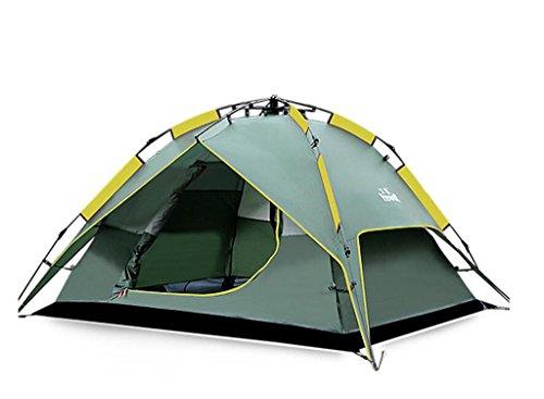 一元化する意図証拠全自動屋外10トン3-4人のキャンプテント防水日焼け止めファミリービーチセット (色 : 1#, サイズ さいず : 2.25kg)