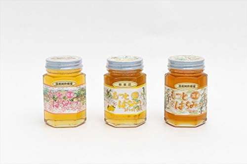 【国産純粋ハチミツ・養蜂園直送】山ざくら蜂蜜 柚子蜂蜜漬 山蜂蜜 各180g