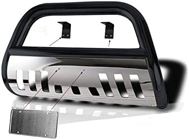 // 99-02 Ford Expedition 2x4 Hunter Premium Truck Accessories Stainless Steel Classic Bull Bar Fits 99-03 Ford F-150 // 04 F-150 Heritage 2x4 2x4