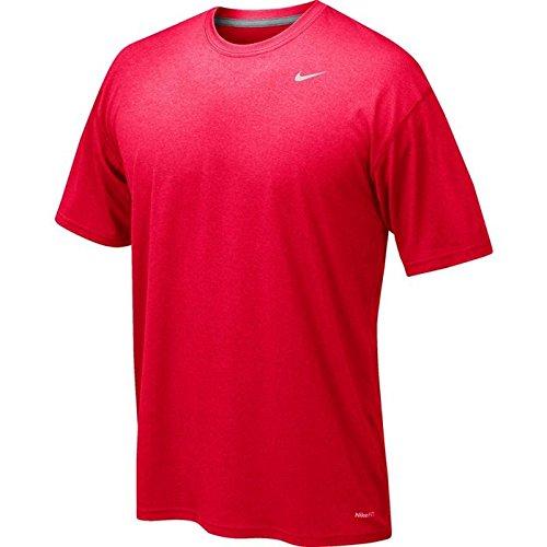 Nike 384407 Legend Dri Fit Short Sleeve Tee – Navy B009LIFWTG YM|レッド レッド YM
