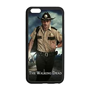 Custom Individual Design the Walking Dead Laser Rubber iphone6 Plus 5.5 Inch Case Cover