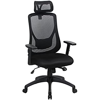 Beau VIVA Office Ergonomic High Back Mesh Chair With Adjustable Headrest And  Armrest (Viva1168F1)