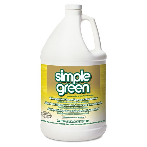 simple green All-Purpose Industrial Cleaner/Degreaser, Lemon, 1gal Bottle - six bottles of cleaner/deodorizer.