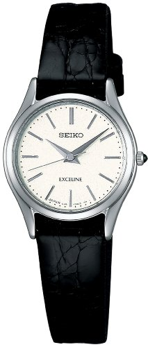 SEIKO EXCELINE Quartz Movement w/ Sapphire Glass Super Clear Coating Ladies Watch - SWDL209