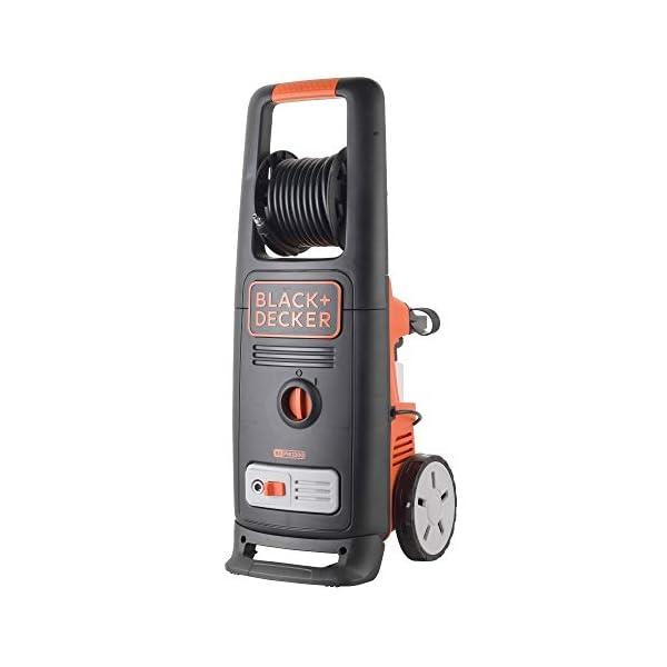 Black+Decker BXPW2200PE Idropulitrice ad Alta Pressione con Patio Cleaner Deluxe e Spazzola Fissa (2200 W, 150 bar, 440 l/h) 2 spesavip