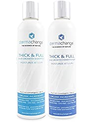 Organic Vegan Natural Hair Growth Shampoo and Conditioner...