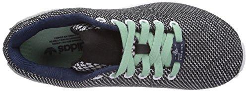 adidas Zx Flux Weave - Zapatos Unisex adulto Ftwr White/Core Black/Dark Blue