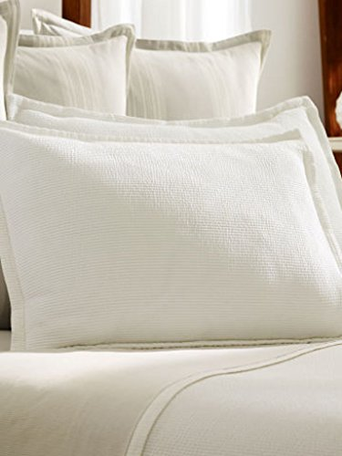 Ralph Lauren Dune Lane Aiden White Coverlet - Twin Size