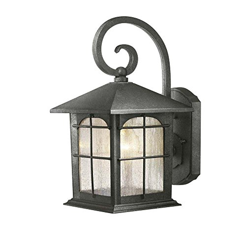 Hampton Bay Aged Iron 7 In. 1 Light Wall Lantern Y37029-151