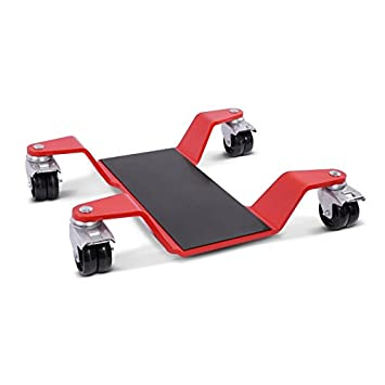 ConStands Dolly Mover for Kawasaki Versys 1000 for Centre Stand Mover II 320 kg red max