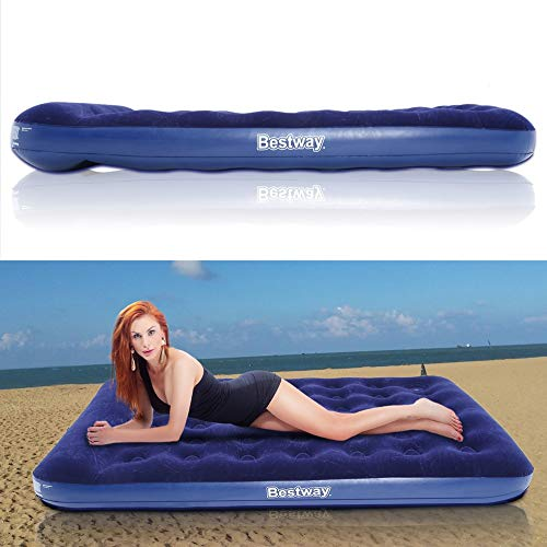 Ensteinberge 2 Persons Large Size Air Moistureproof Camping Mats Inflatable Air Bed Outdoor Picnic Beach Mattress Sleeping Mats with Pump