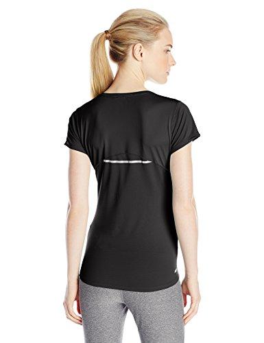 New Balance Accelerate Camiseta, Hombre Negro