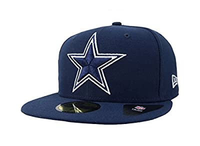 New Era 59Fifty Hat NFL Dallas Cowboys 1960 Team Superb Navy Blue Fitted