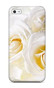 TYH - 5031893K53934104 Iphone 6 4.7 Well-designed Hard Case Cover White Roses Protector phone case