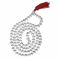 Arihant Gems & Jewels Sphatik Jaap Mala For Pooja (Astrology