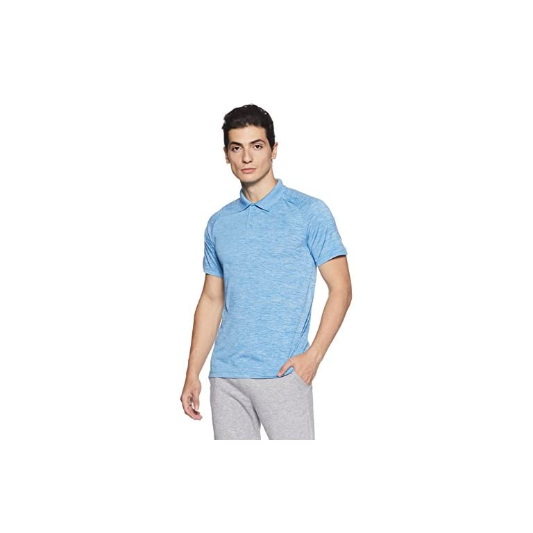 41OQn4gWsOL. SS768  - Adidas Men's Plain Regular Fit Polo