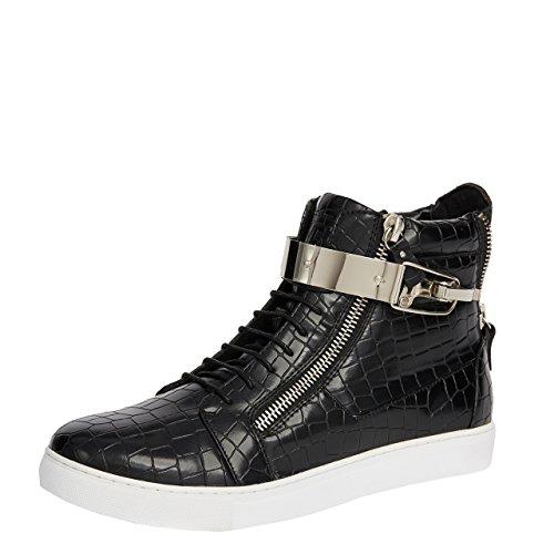 Jump Men's Zeus High-Top Fashion Sneaker Black 12 D US