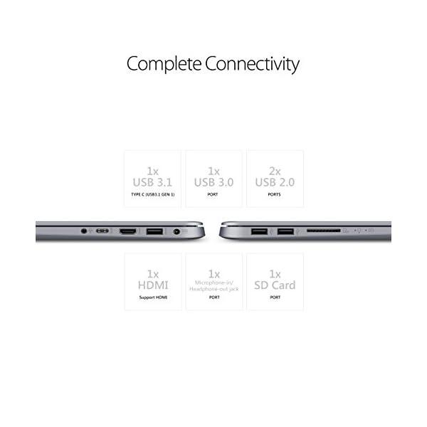 "2019 ASUS VivoBook F510QA 15.6"" WideView FHD Laptop Computer, AMD Quad-Core A12-9720P up to 3.6GHz, 16GB DDR4 RAM, 256GB SSD + 1TB HDD , USB 3.0, 802.11ac WiFi, HDMI, Windows 10 4"