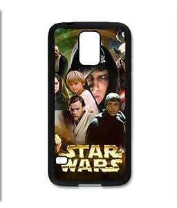 Samsung Galaxy S5 SV Black Rubber Silicone Case - Star Wars Aniken Luke Sywalker Episode 1 2 3 Darth by runtopwell