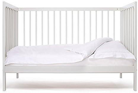 Cuna de bebe Star Ibaby Dreams Sweet. 3 posiciones de somier. Lateral abatible + Colchón Viscoelastica.