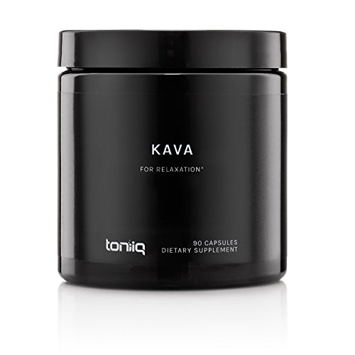 Root 30 Capsules (Elevated Kava Root Extract by Toniiq with 30% Standardized Kavalactones | Superior Kava Kava Capsules for Natural Stress Relief | Tea and Powder Alternative | 90 Veggie Capsules)