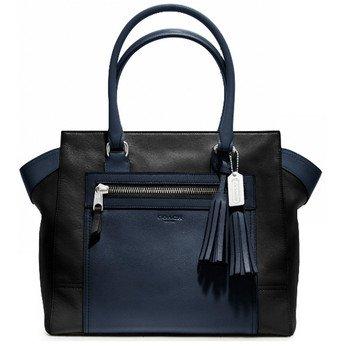 Coach Legacy Blue Leather Colorblock Candace Bag 19909 Purse