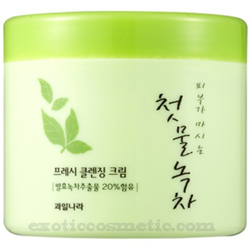 The First Green Tea Natural Facial Cleansing Cream (Fermented Green Tea) (Facial Cream Cleansing)