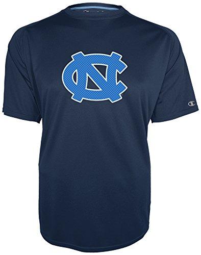 Carolina North Tar Heels Champion - NCAA North Carolina Tar Heels Training 2 Game Day B.M.O.C. Short Sleeve Crew Raglan Tee, X-Large, Sports Navy