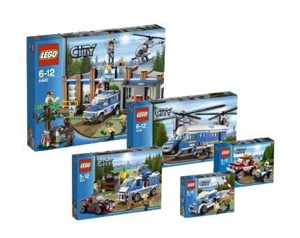 Lego City Forest Police 4436 4437 4439 4440 4441 Super Set Buy