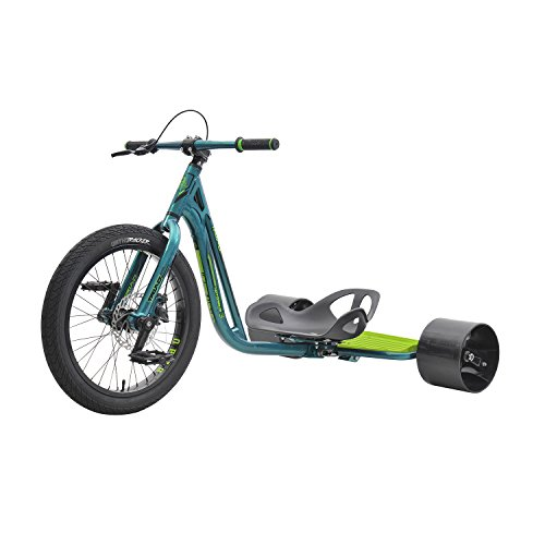 - Triad Notorious 3 Drift Trike Tricycle, Green/Green