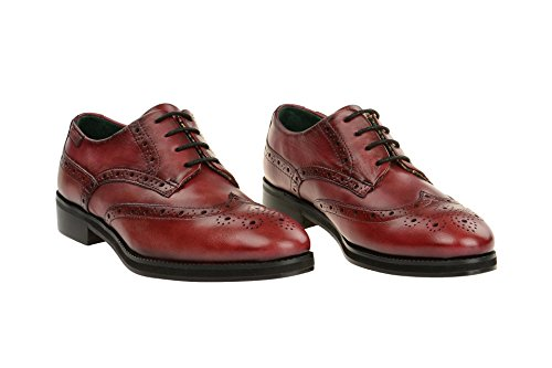 Women's Brogue PIKOLINOS Lace Up Leather W5M Rojo 5701 Shoe Royal qwRdCF