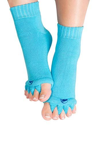 Original Foot Alignment Socks Blue (Womens 4/6/Mens 2-4) Happy Feet (Small)