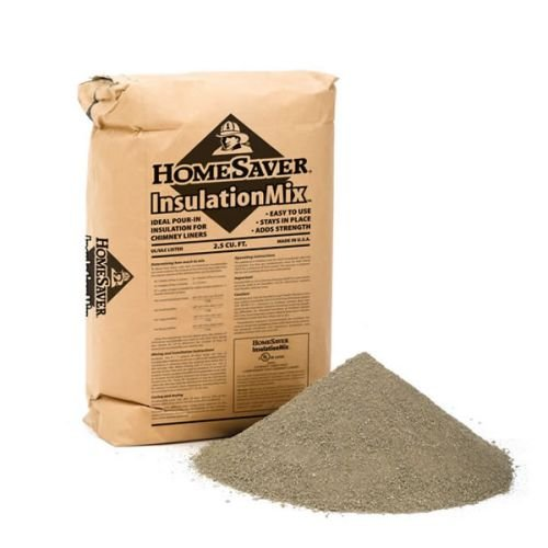Chimney 39100 HomeSaver Boxed Insulation Mix 2.5 Cubic Feet Approximately 45 lbs Shipped Boxed (Liner Ventinox)