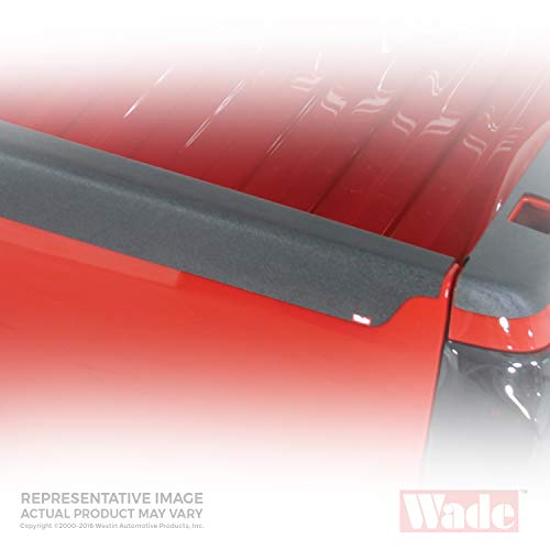 Wade 72-01471 Truck Bed Tailgate Cap Black Smooth Finish for 2002-2008 Dodge Ram 1500 2500 3500 (2006 Dodge Ram 2500 Tailgate For Sale)