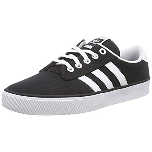 Adidas Kiel, Zapatillas para Hombre, Negro (Core Black/Footwear White/Core Black 0), 40 2/3 EU