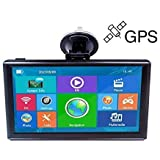 Amazon.com: Car GPS Navigation System, 7-Inch 8G HD Touch Screen ...