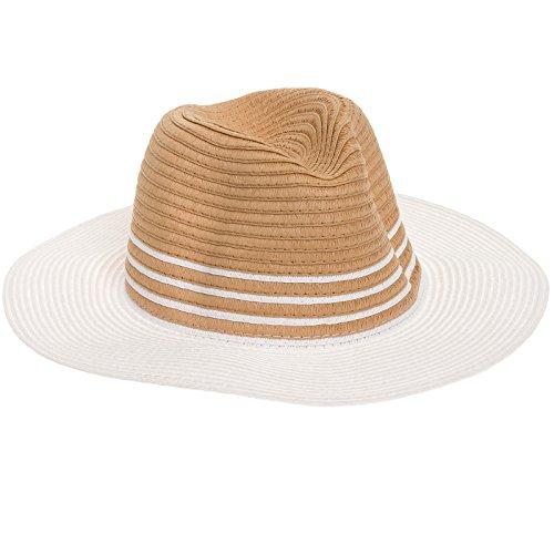 SCALA Womens Toyo Safari Paper Braid Hat - Toyo Hat Braid Wide