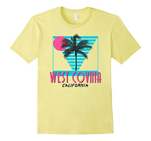 Mens West Covina California T Shirt Retro Cool XL - Covina West