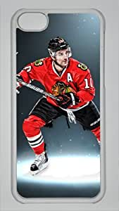PATRICK SHARP Custom PC Transparent Case for iPhone 5C by icasepersonalized