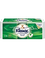 Kleenex Ultra Soft Scented Bath Tissue, Aloe Vera, 200 count (Pack of 20)